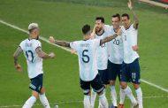 L'Argentine a battu le Venezuela 2-0 en quarts de finale de la Coupe d'Amérique Brasil 2019