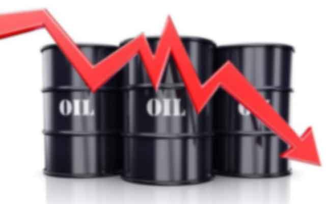 Le prix du pétrole continue de baisser
