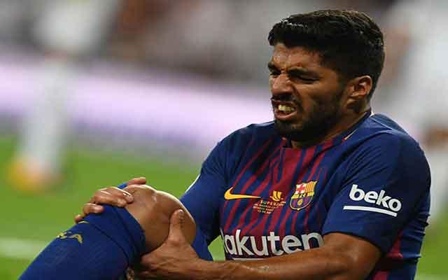 L'attaquant de Barcelone Luis Suarez a subi une opération au genou