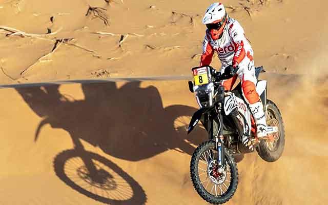La mort d'un Pilote Moto portugais lors de la septième étape du rallye Dakar