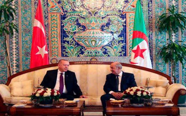 Recep Tayyip Erdogan entame sa visite d'amitié et de travail à Alger