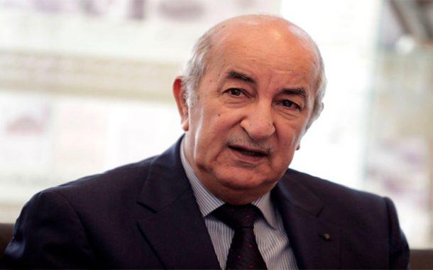 Abdelmadjid Tebboune, préside une séance de travail au siège du MDN