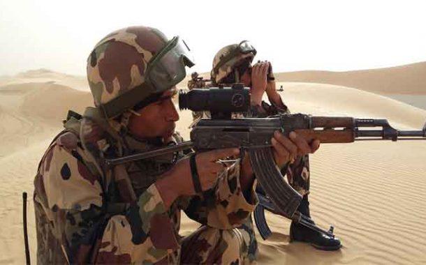 L'armée capture un dangereux terroriste à Tamanrasset
