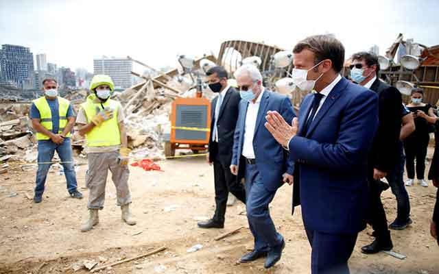 France-Liban: Macron à Beyrouth après l'explosion