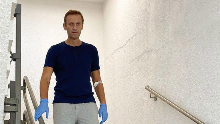 La fortune de Navalny est gelée pendant qu'il était dans le coma