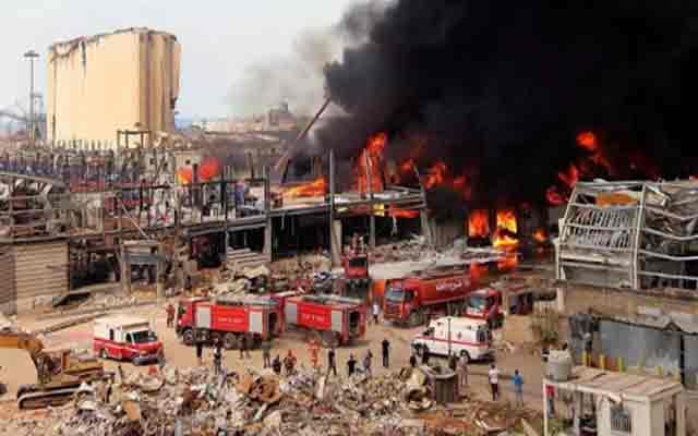 Liban: un nouveau grand incendie au port de Beyrouth