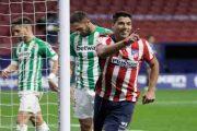 Grâce aux buts de Marcos Llorente et Luis Suárez, l'Atlético Madrid a battu le Betis