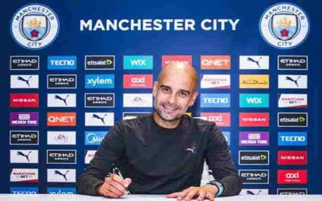 Guardiola signe une prolongation de deux ans avec le Manchester City