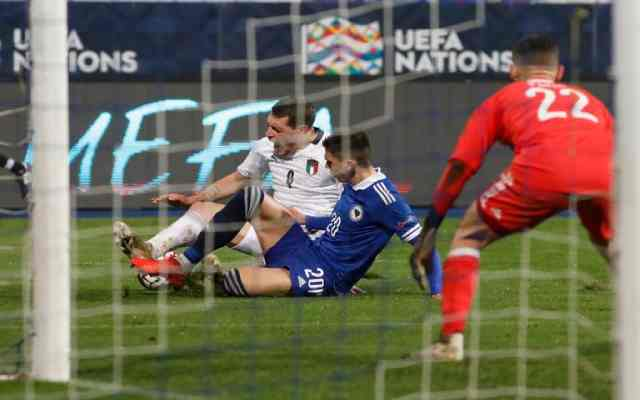 L'Italie bat la Bosnie et se rend en finale de la Ligue des Nations