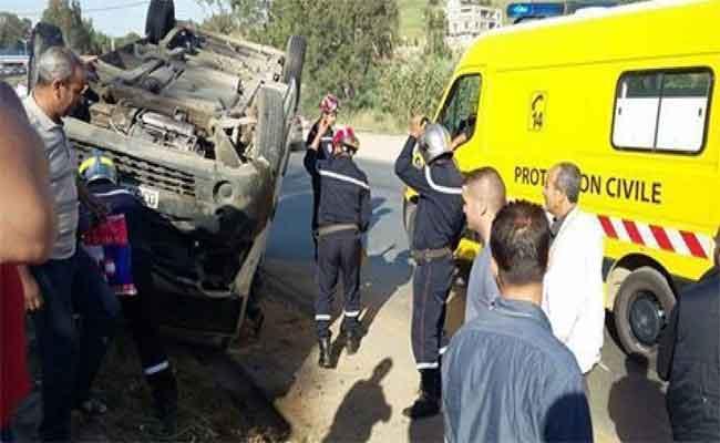 Un accident de la route entre El Oued et Biskra coûte la vie à huit personnes