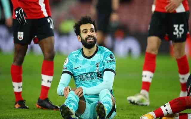 Liverpool en tête du classement malgré sa défaite contre Southampton FC