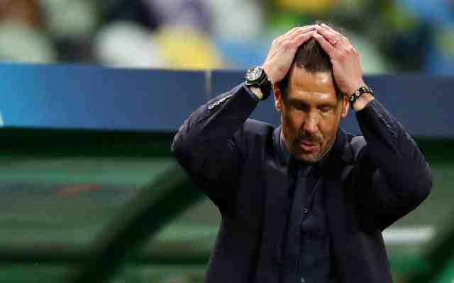 Un avenir inconnu de Simeone à l'Atlético
