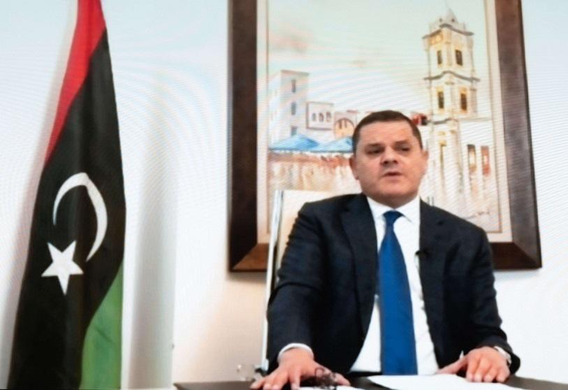 Le Premier ministre libyen Abdel Hamid Dbeibah présente son nouveau gouvernement, aujourd'hui