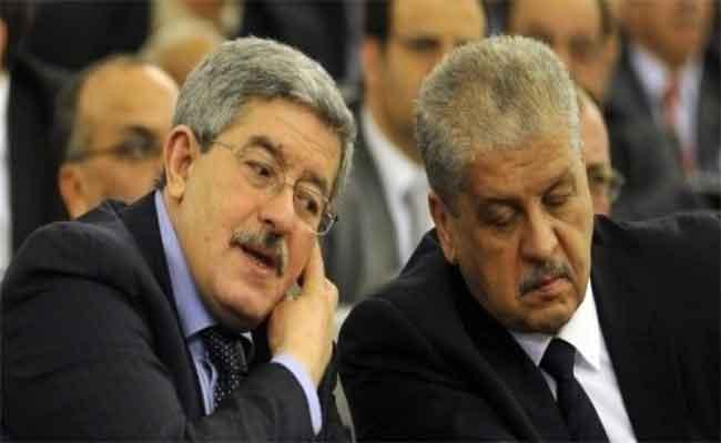 Affaire « GB Pharma » : Peines de prison confirmées contre Ouyahia et Sellal par la cour d'Alger