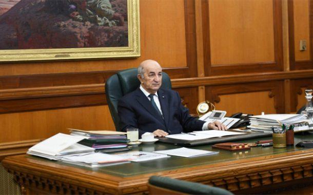Tebboune : Remaniement ministériel profond prévu après les élections