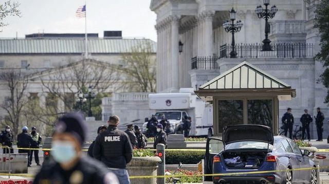 États-Unis: une attaque à la voiture contre deux policiers au Capitole