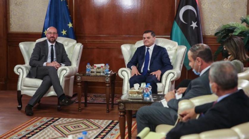 La visite du président du Conseil européen en Libye