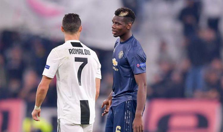 Rapport :Man Utd envisage l'échange Pogba-CR7