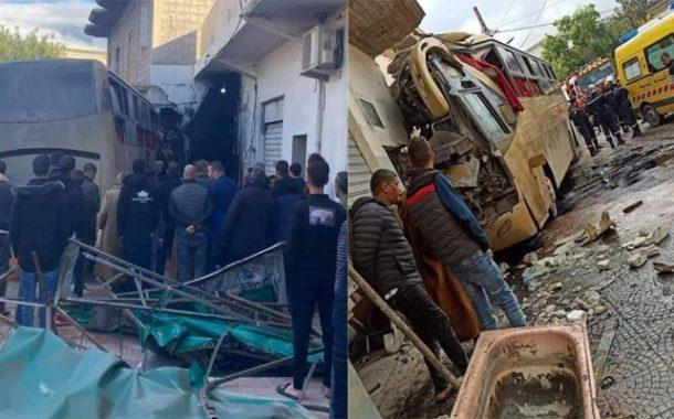 16 blessés dans le dérapage d'un bus de voyageurs à Oum El-Bouaghi