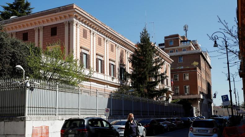 Les derniers développements de l'affaire de l'espionnage russe à Rome