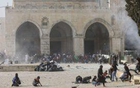 Les forces d'occupation Israéliennes  se retirent d'al-Aqsa, mais tire 250 roquettes sur Gaza