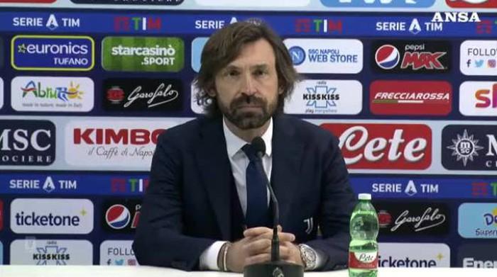 Pirlo réagit après la  perte du titre de Série A par la Juve