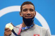 JO de Tokyo : le Tunisien Hafnaoui remporte l'or du 400 m de natation