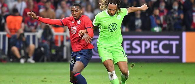 Lille tenu en échec par Wolfsburg en match d'ouverture de la Ligue des champions