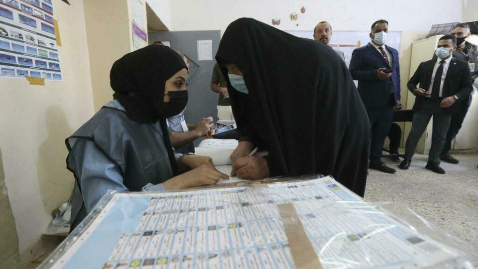 Irak: taux de participation de 41% aux élections législatives anticipées