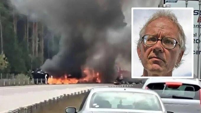 Le peintre suédois qui a caricaturé le prophète Mohamed tué dans un horrible accident de la circulation