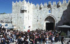 Jérusalem : affrontements à la porte de Damas, une vingtaine de blessés